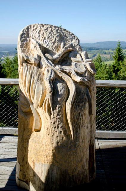 Stezka korunami stromů Lipno